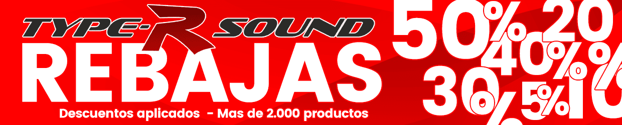 Rebajas typersound 2021